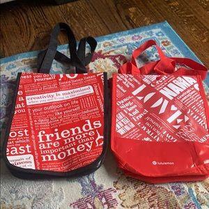 Lululemon 2 bags